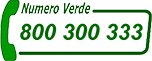 numero verde 800-300333